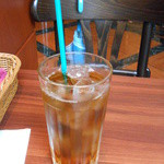 リリオ - ランチセットのウーロン茶