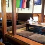 キッチンハウス殿様 - テーブル席1、座敷席2