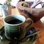 キッチンハウス殿様 - ホットコーヒー