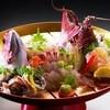 浜千代館 - 料理写真:鮑と伊勢海老