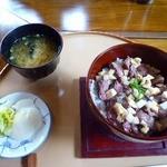 19498533 - 篠山まるごと丼 山椒味噌仕立て(1,000円)