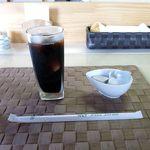 ごはん処 茶茶 - 食後のアイスコーヒー