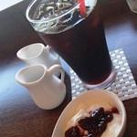 カフェウルル - 水出しコーヒー(550円)