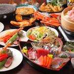 ぼろもち家 - 季節を楽しむ話題のコース『3500円コース(飲み放題付)』