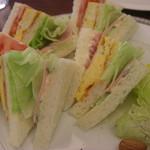 Cafe Tristan  - サンドイッチ