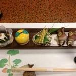 海辺の宿 運上屋 - 料理写真:前菜