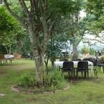 19501812 - テラス席も広い!手入れの行き届いた庭。