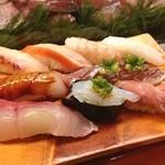 美松 - 特上ずし 2600円 下田の地魚寿司です(^^) 下田で寿司を食べるならココがオススメです!
