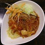 獅子吼 - 冷製トマトラーメン(750円)