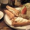 珈琲かわい - 料理写真:ホットプレスサンド(ハム&チーズ)セット ¥670