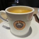 サンマルクカフェ - コーヒーブラック Mサイズアップ