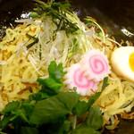 北新地 朱月 - カレーつけ麺 麺