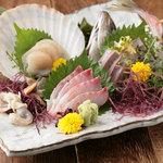 渋谷 輪和話 - 旬な鮮魚のお造り盛り合せ