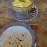 19505239 - ラジャセットのスナックとマハラニ・ターリーのデザート