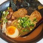 Kamiariseimen - 料理写真:魚介濃厚ラーメン