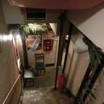 19506719 - 階段を下ると入り口です