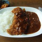 かりん - 料理写真:ポークフライカレー
