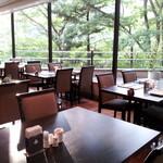 ホテルハーヴェスト 鬼怒川 - 窓際は最高の景色です