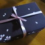 19509243 - 桜の包装紙ですね。