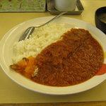 松屋 - 「フレッシュトマトカレー」です。