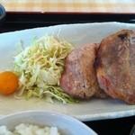 パームスプリングスファミリーレストランアンドゴルフレンジ - 塩麹焼アップ