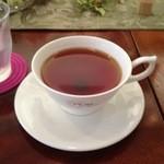 Y's tea room - ランチセットの本日の紅茶