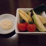 19518981 - 突き出しの野菜