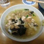 吾妻家 - 鶏スープ茶漬け