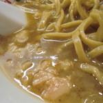 19521426 - スープと背脂