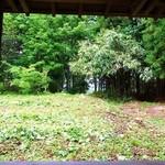 里山カフェ - テラス席からの眺め