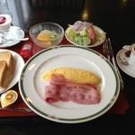 KKRホテル仙台 - 朝食 (洋食)