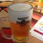 カルミネ表参道スタンド - 生ビール