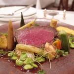 レストラン セビアン - 宮城県産 短角牛のロースト 2,700円