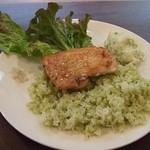 Noel Bistronomic Nagano - 鶏ももステーキトルコ風(ランチ)
