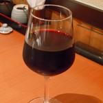 鶏焼将軍 - グラスワイン380円とお値段◎