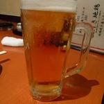 鶏焼将軍 - ビール330円かな安い!