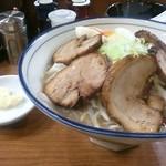 らーめん勇 - 全部入り醤油豚骨1050円