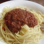 モン・クレール - ミートソーススパゲッティ