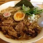 らー麺Chop - 「中華そば(太麺) 中」700円