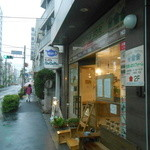 Cafe cocoro - バス停のそば
