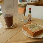 Cafe cocoro - セットで650円