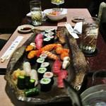 寿し屋の勘八 - 特上寿司二人前