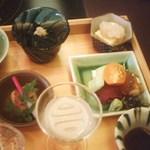 kanazawasekitei - 1900円ランチ・お造り、豆腐、ノンアルコール酒