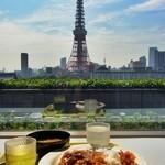 港区役所 レストランポート - さぁ、東京タワーを見ながらカレーを食べましょう