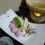 たつき - 鍋(すっぽんの道明寺まんじゅう鍋)