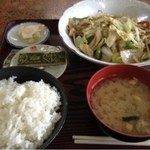 19535146 - 野菜炒め定食735円