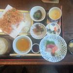19535413 - 桜海老かき揚膳