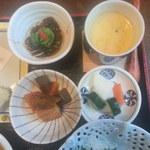 19535418 - 小鉢と茶碗蒸し