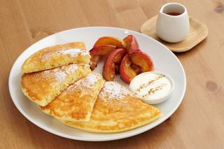 cafe RODI - 焼きリンゴのパンケーキ