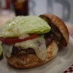 マンチズ バーガー シャック - ペッパージャックのチーズバーガー